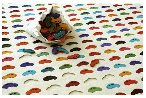 Cool Car Rug and Puzzle